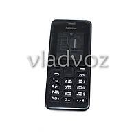 Корпус Nokia 108 чёрный с клавиатурой class AAA