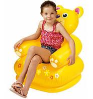 Яркое детское надувное кресло intex 68556