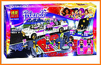 """Конструктор Bela """"Роскошный автомобиль для поп-звезды"""" 265 детали арт. 10405 (аналог LEGO Friends 41107)"""