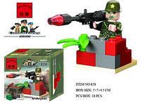 Конструктор  Brick 828 Артиллерист