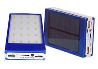 Портативное зарядное устройство с солнечной батареей POWER BANK SOLAR 15, беспроводная зарядка, павербанк
