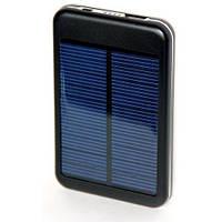 Портативное зарядное устройство с солнечной батареей 6000S mAh 1 usb порт, качественные павербанки