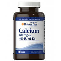 Calcium 600mg (400 IU of D3) (100 таб)