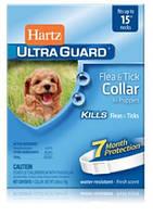 Hartz (Харц) Ошейник от блох и клещей для щенков на 7 месяцев 38см (белый)