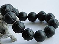 Нефрит черный - браслет Бяньши