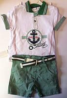 Комплект BEBY TINY Для мальчиков Футболка+шорты 605036 Flexi Турция
