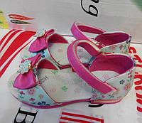 Очень красивые детские босоножки для девочки.