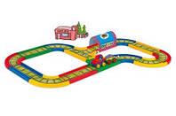 Железная дорога Kid Cars 3,1 метра  Wader 51701