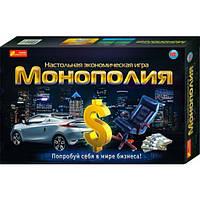 Настольная экономическая игра Монополия Ranok-Creative 5807