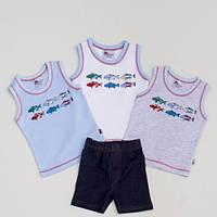 Комплект майка, шорты 6729  Abentiny