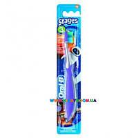 Зубная щетка детская мягкая Stages 3, от 5 до 5 лет Oral-B 75049948
