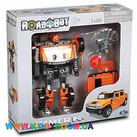Робот-трансформер Roadbot  Hummer H2 SUT (1:24) HAPPY WELL 53091R