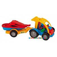 Авто-багги с прицепом Wader 39227