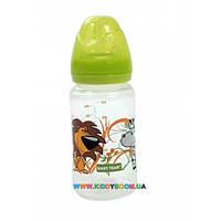 Бутылочка для кормления Baby Team с широким горлом 250 мл 1002
