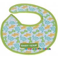 Нагрудник на липучке Baby Team 6501