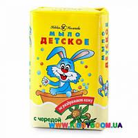 Туалетное мыло с чередой Детское 90 гр Невская косметика 01545