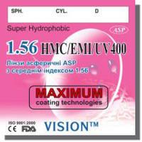 Полимерная, асферическая, гидрофобная линза, индекс 1.56, World Vision Ukraine