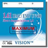 Полимерная, утонченная линза, индекс 1.61, World Vision Ukraine
