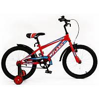 Велосипед детский двухколесный FLASH колеса  18 дюймов  RED