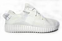 Женские кроссовки Adidas Yeezy Boost 350 Low, текстиль, белые, Р. 36 38 39 40