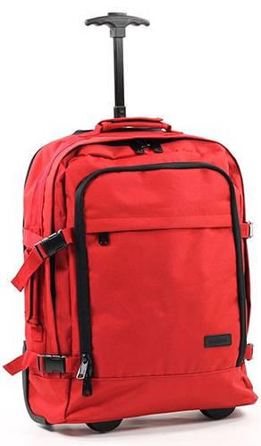 Яркая дорожная сумка 33 л. Members Essential On-Board 33, 922523 красный