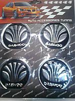 Наклейка на колпачок диска Daewoo диаметр 60 мм