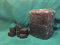 Кокосовый уголь для кальяна 0,5 кг (размер 25*25*15)