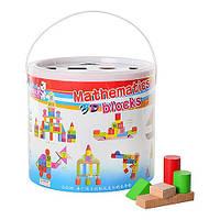 Деревянная игрушка-сортер Городок MD 0681 Woody