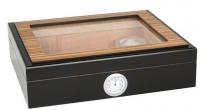 Хьюмидор 09431 для 12 сигар, кедр/шпон, коричневый, 26х22х7 см