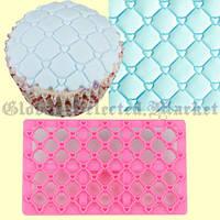 Пластиковая форма для мастики для выпечки для лепки торта молд сердечки  cupcake