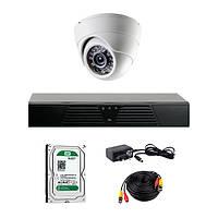 AHD комплект видеонаблюдения CoVi Security HVK-1002 AHD KIT HDD 500 Гб