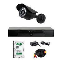 Комплект видеонаблюдения CoVi Security HVK-1001 AHD KIT HDD 500 Гб
