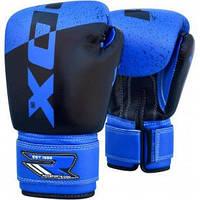 Детские перчатки для бокса RDX Blue 6oz
