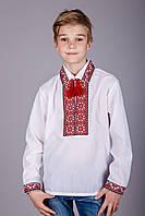 Оригинальная вышитая сорочка для мальчика