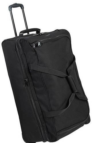 Вместительная дорожная сумка 106 л. Members Expandable Wheelbag Large 88/106, 922555 черный