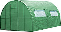 Каркасная теплица под пленку или полиматериал Click Green House, 3х4 м