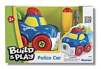 """Полицейская машина """"Строй и играй"""", конструктор"""