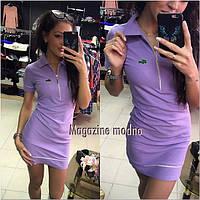 Платье LACOSTE спортивное мини в разных цветах SMM209