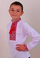 Очень красивая национальная вышиванка для мальчика.
