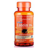Препарат для поддержки органов зрения Puritan's Pride Lutein 20 мг with Zeaxanthin 30 порц. (30 капс)
