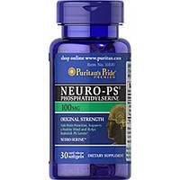 Препарат для регулирования нервных процессов Puritan's Pride Neuro-Ps 100 мг 30 порц. (30 капс)