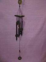 Китайский металлический колокольчик 4 трубочки Музыка ветра 60 сантиметров высота.