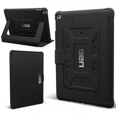 Интересный чехол Urban Armor Gear iPad Air Scout (Black) IPDAIR-BLK/BLK-VP