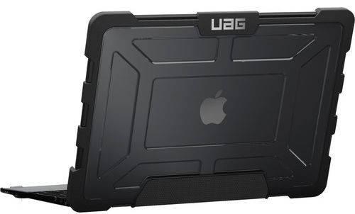 "Легкий мужской чехол для ноутбука Urban Armor Gear Macbook Air 13"" Ash (Transparent) MBA13-A1466-ASH"