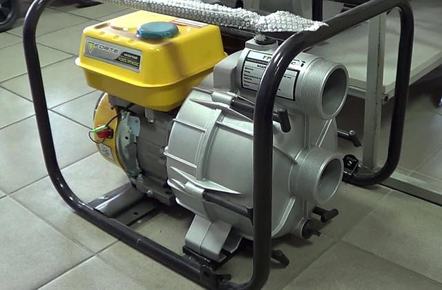 Мотопомпа для грязной воды Forte FPTW 30 C