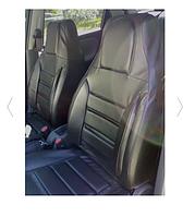 Чехлы на сидения для Ваз 2107 из кожвинила Pilot