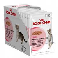 Royal Canin Kitten Instinctive (Киттен Инстинктив соус), 24х85 гр