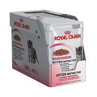 Royal Canin Kitten Instinctive Jelly (Киттен Инстинктив желе), 24х85 гр