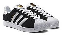 Кроссовки Adidas Superstar Black/White 2
