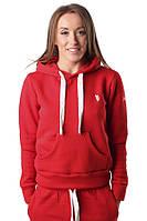 Женская спортивная толстовка ATHLETIC HOODI Berserk Sport красный